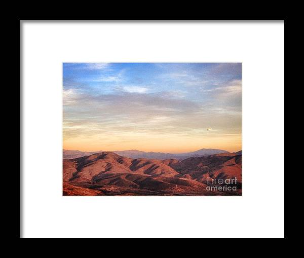Bonita Framed Print featuring the photograph California Trails by Laarni Montano