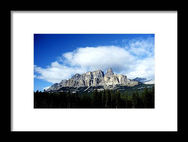 Scenery Framed Print featuring the photograph Canadian Rockies by Erin Marcoccia
