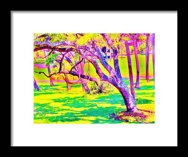 Keri West Framed Print featuring the photograph Candied Golf Game by Keri West