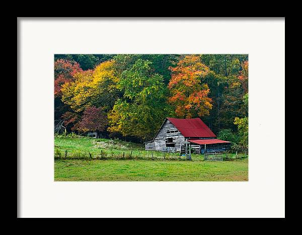 Appalachia Framed Print featuring the photograph Candy Mountain by Debra and Dave Vanderlaan