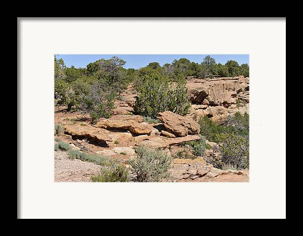 Canyon Framed Print featuring the photograph Canyon De Chelly - A Blend Of Cultures by Christine Till
