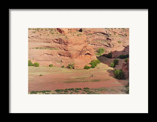 Canyon Framed Print featuring the photograph Canyon De Chelly From White House Ruins Trail by Christine Till