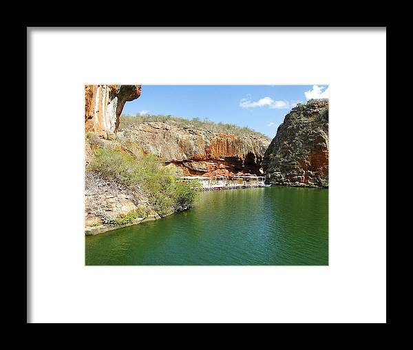 Tranquility Framed Print featuring the photograph Canyon De São Francisco by João Klebber Leite