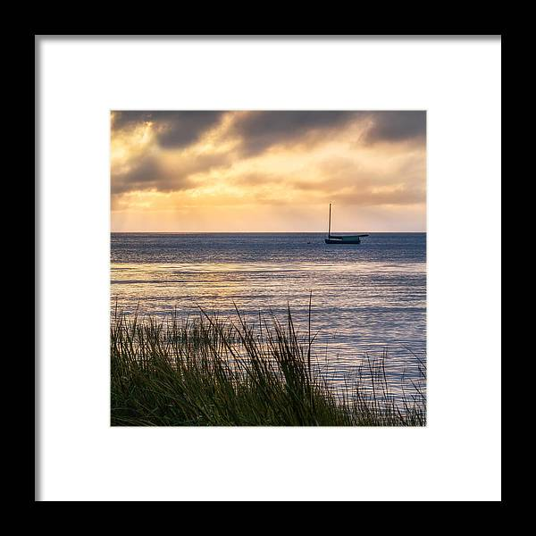 Cape Cod Framed Print featuring the photograph Cape Cod Bay Square by Bill Wakeley