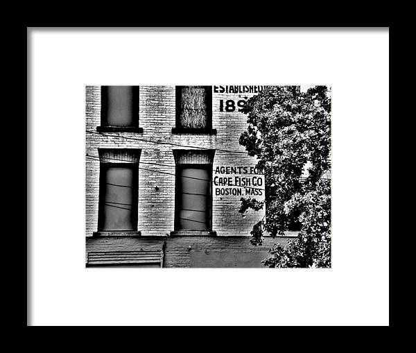 Framed Print featuring the photograph Cape Fish Co. by Hominy Valley Photography