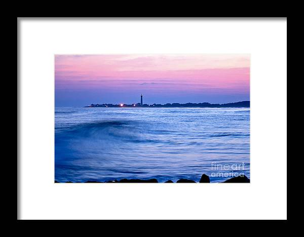 Sea Framed Print featuring the photograph Cape May Seascape by Anthony Sacco