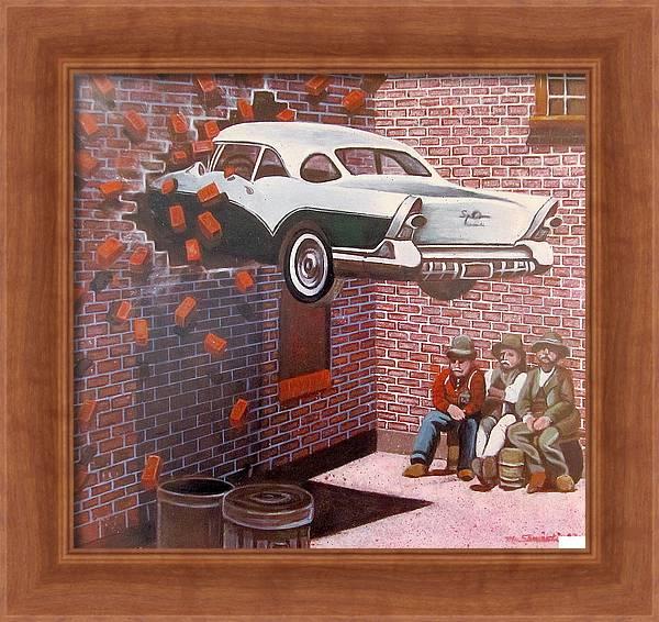 Car Crash by Melinda Saminski