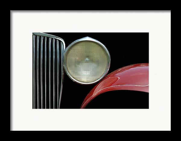 Car Framed Print featuring the photograph Car Parts by Dan Holm