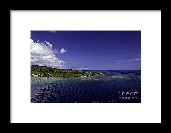 Caribbean Framed Print featuring the photograph Caribbean Breeze Eight by Ken Frischkorn