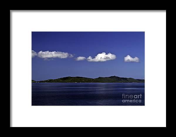 Caribbean Framed Print featuring the photograph Caribbean Breeze Eleven by Ken Frischkorn