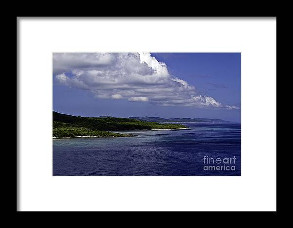 Caribbean Framed Print featuring the photograph Caribbean Breeze Seven by Ken Frischkorn