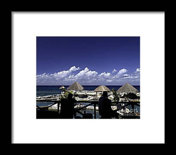 Caribbean Framed Print featuring the photograph Caribbean Breeze Two by Ken Frischkorn