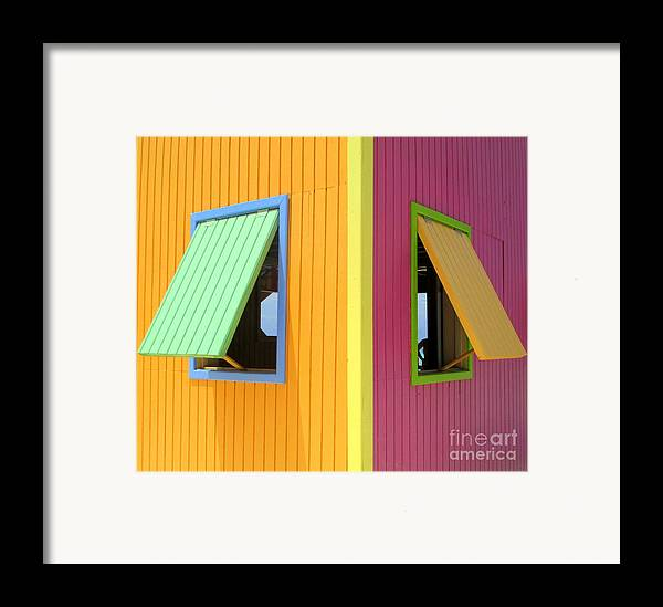 Caribbean Corner Framed Print featuring the photograph Caribbean Corner 3 by Randall Weidner
