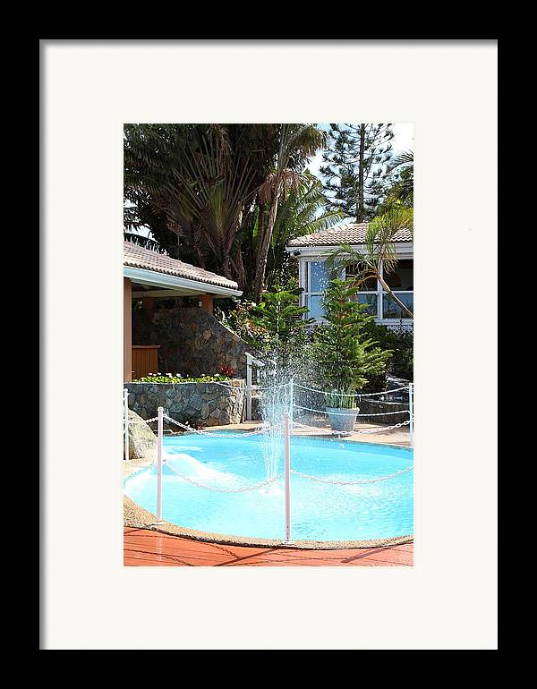 Cruise Framed Print featuring the photograph Caribbean Cruise - St Thomas - 1212230 by DC Photographer