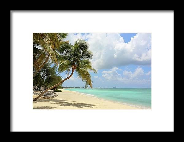 Scenics Framed Print featuring the photograph Caribbean Dream Beach by Shunyufan
