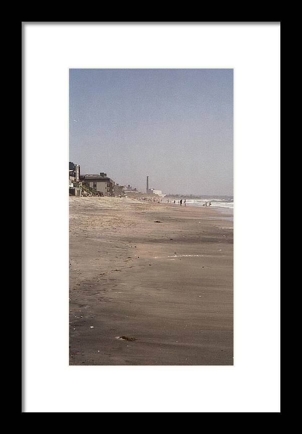 Beach Framed Print featuring the photograph Carlsbad Living by Judy Gerstner