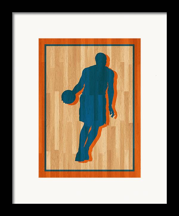 Anthony Framed Print featuring the photograph Carmelo Anthony New York Knicks by Joe Hamilton