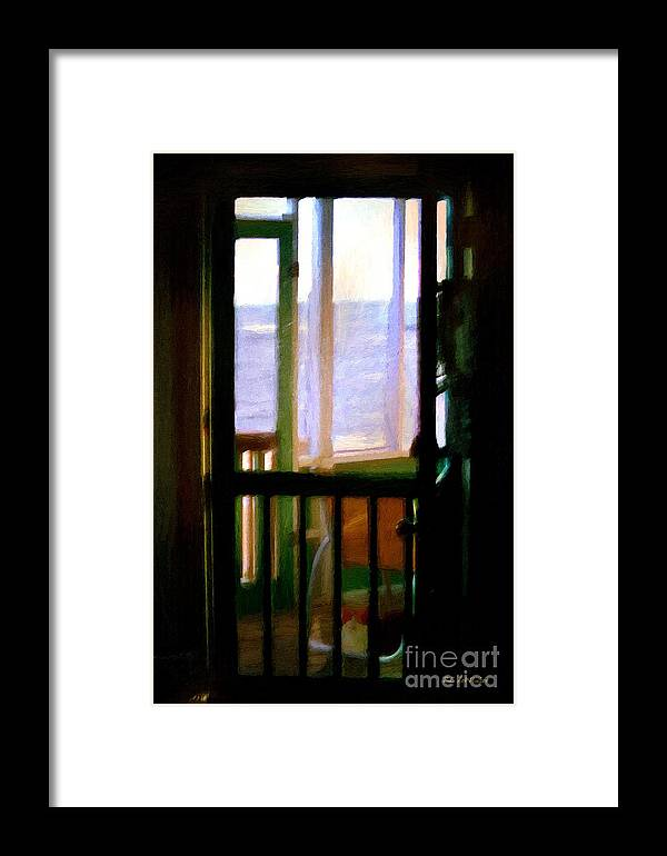 Beach Framed Print featuring the painting Carolina Morning by RC DeWinter