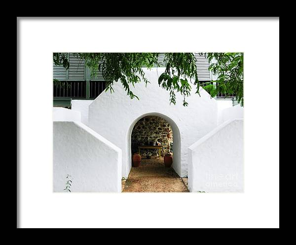 Color Framed Print featuring the photograph Castle Entrance by Amar Sheow