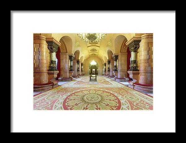 Catalonia Framed Print featuring the photograph Catalonia Parliament Building, Parc De by Cultura Rm Exclusive/quim Roser