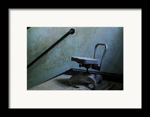 Abandoned Framed Print featuring the photograph Catatonic by Luke Moore