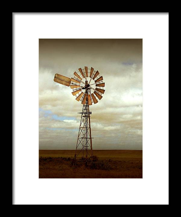 Windmill Framed Print featuring the photograph Catch the Wind by Holly Kempe