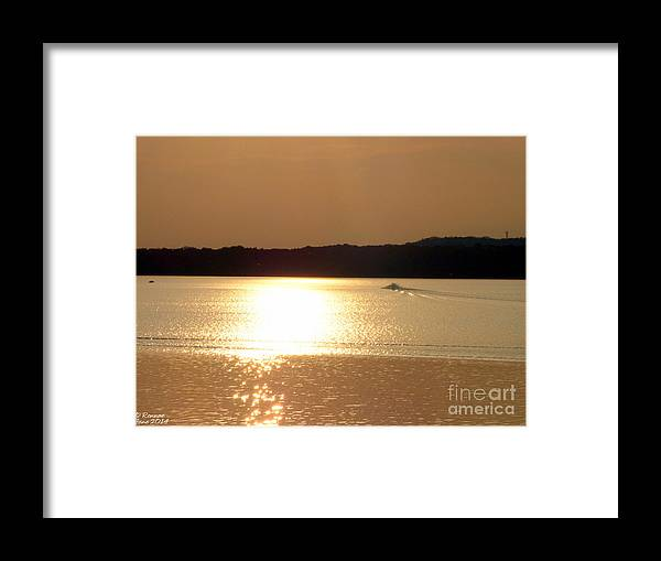 Lake Framed Print featuring the photograph Catching The Waves At Delta by Rennae Christman