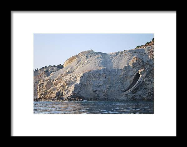 Cave Framed Print featuring the photograph Cave by George Katechis