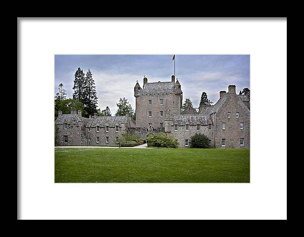 Ancient Framed Print featuring the photograph Cawdor Castle Scotland by Georgi Djadjarov