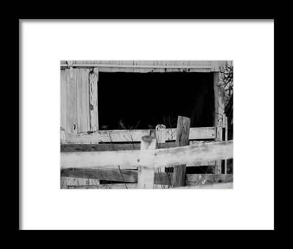 Old Framed Print featuring the photograph cc by Tara Lynn