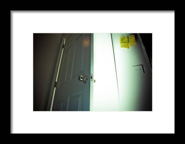 Light Framed Print featuring the photograph Cellardoor by Chance Beaver