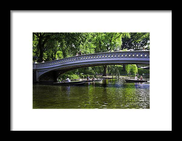 Central Park Framed Print featuring the photograph Central Park Day 2 by Madeline Ellis