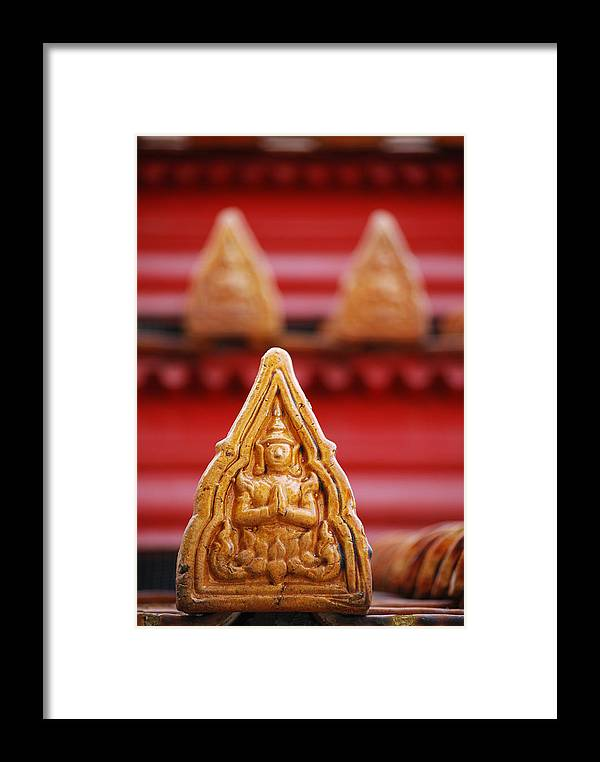Ceramic Framed Print featuring the photograph Ceramic Prayer by Vince McCall