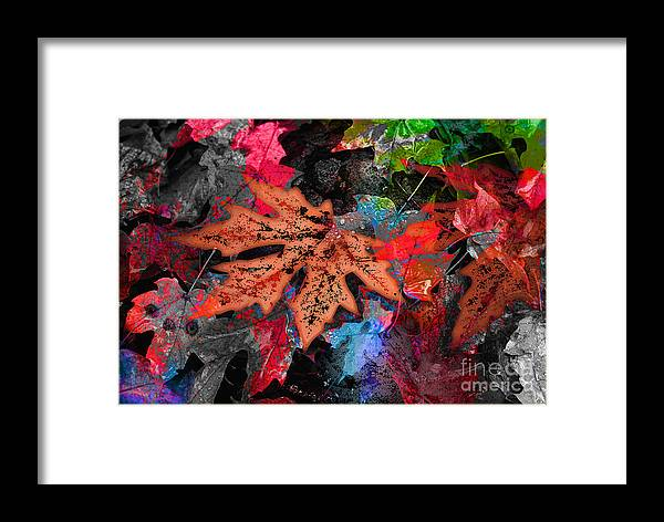 Digital Image Framed Print featuring the digital art Change by Yael VanGruber