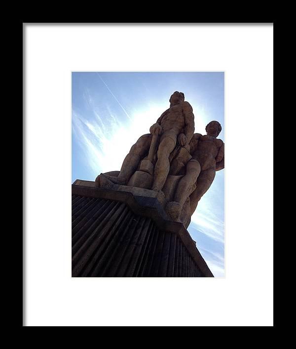Charles Bridge Framed Print featuring the photograph Charles Bridge Statues Iv by Hannah Rose