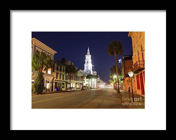 Charleston Framed Print featuring the photograph Charleston South Carolina by Denis Tangney Jr
