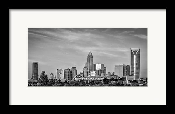 Charlotte Framed Print featuring the photograph Charlotte Chrome by Brian Young
