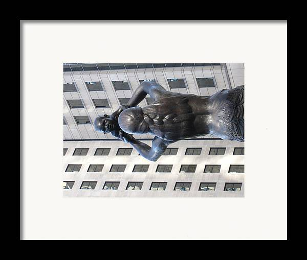 Charlotte Framed Print featuring the photograph Charlotte Nc - 12122 by DC Photographer