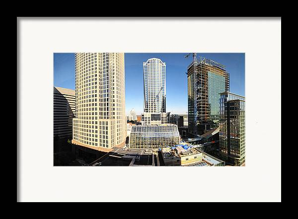 Charlotte Framed Print featuring the photograph Charlotte Nc - 12129 by DC Photographer