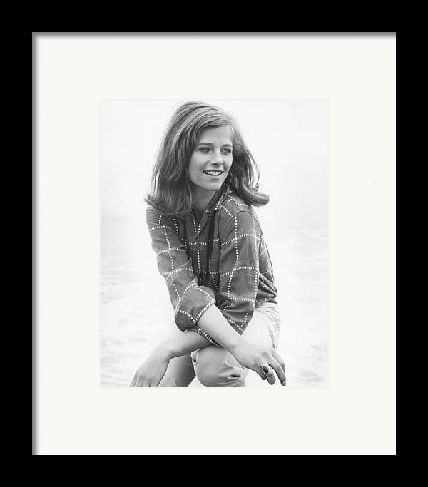 Charlotte Rampling Framed Print featuring the photograph Charlotte Rampling by Silver Screen