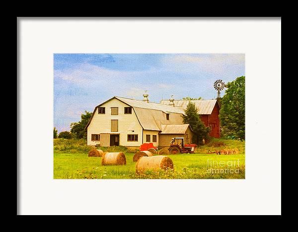 Vermont Framed Print featuring the photograph Charlotte Vermont Gem by Deborah Benoit
