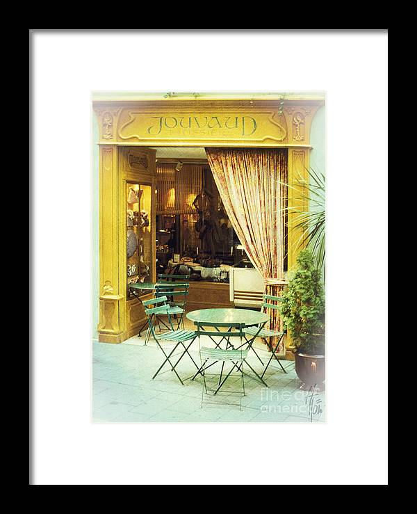Heiko Framed Print featuring the photograph Charming Street Still Life by Heiko Koehrer-Wagner