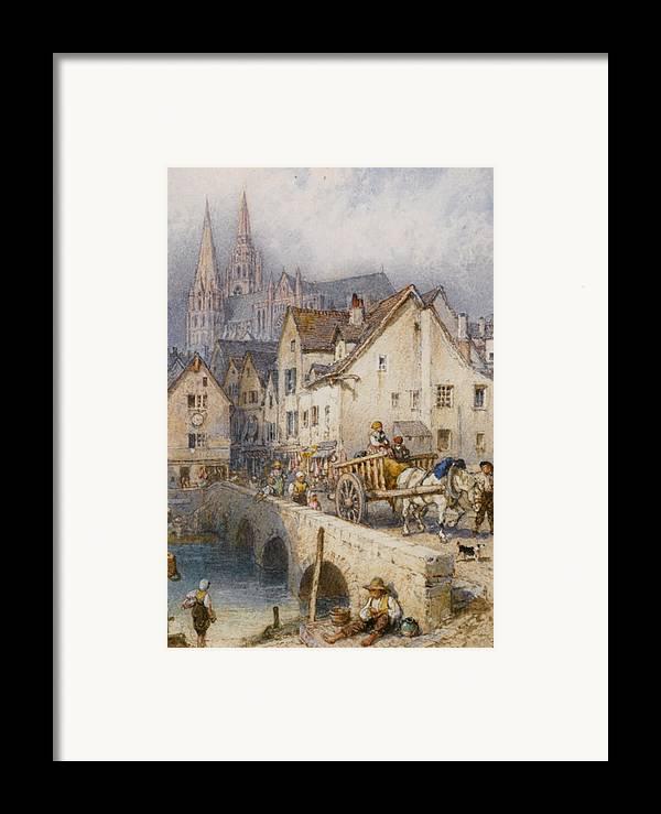 Myles Birket Foster Framed Print featuring the digital art Charters by Myles Birket Foster