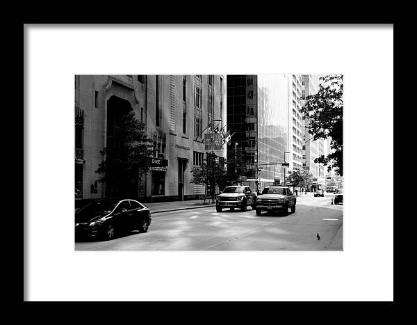 Houston Framed Print featuring the photograph Chasing The Day by Matt Johnson