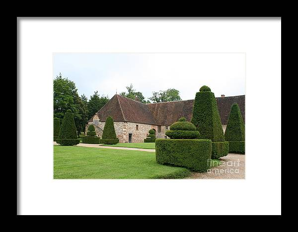 Stable Framed Print featuring the photograph Chateau De Cormatin Stable by Christiane Schulze Art And Photography