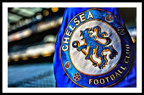 Chelsea Football Club Poster by Florian Rodarte