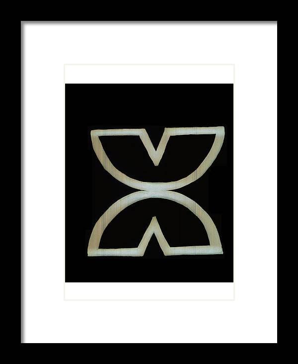 Cherokee Symbol Freedom Framed Print By Gracie Shellito