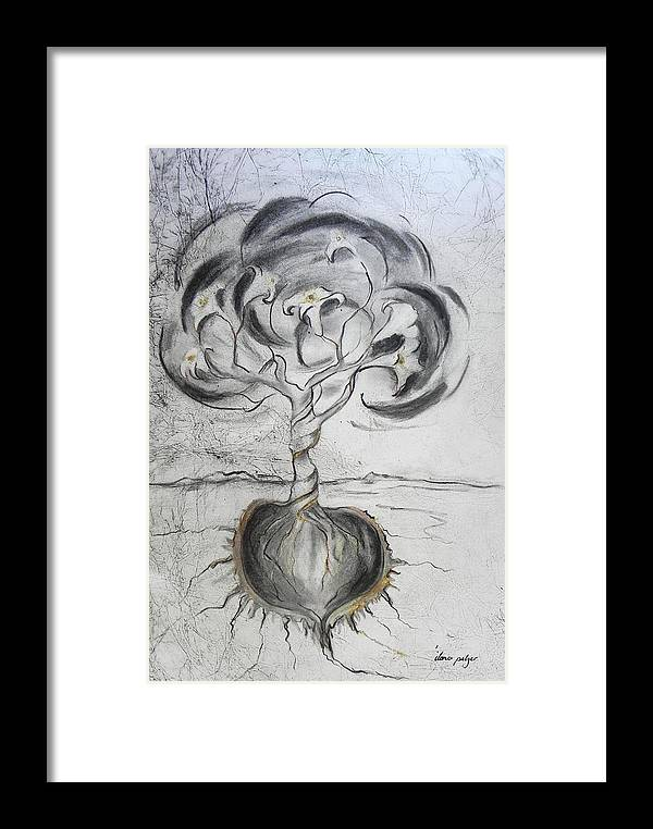 Chestnut Framed Print featuring the painting Chestnut The Noble by Ilona Petzer