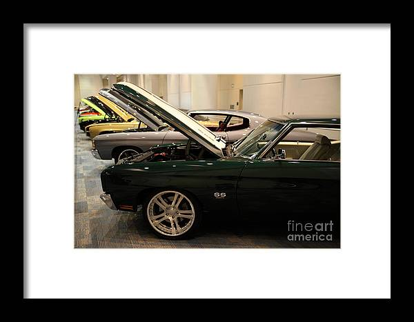 Transportation Framed Print featuring the photograph Chevrolet Chevelle Ss 5d26877 by Wingsdomain Art and Photography