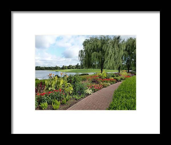 Chicago Botanical Gardens Framed Print featuring the photograph Chicago Botanical Gardens - 96 by Ely Arsha